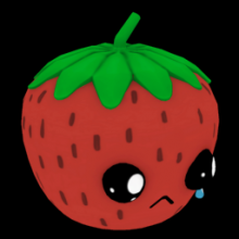 Sad Strawberry