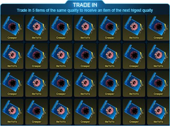 VIN Exotic Blueprint Trade Up (1 Random Piece) x 10