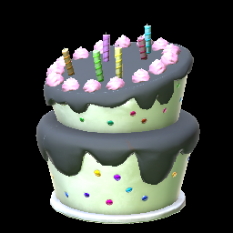 Birthday Cake Black Prices Data On XBOX ONE Rocket League Items