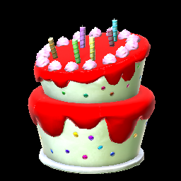 Birthday Cake Crimson Prices Data On XBOX ONE Rocket League Items
