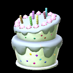 Birthday Cake Grey Prices Data On XBOX ONE Rocket League Items
