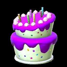 Birthday Cake Purple Prices Data On Xbox One Rocket League Items