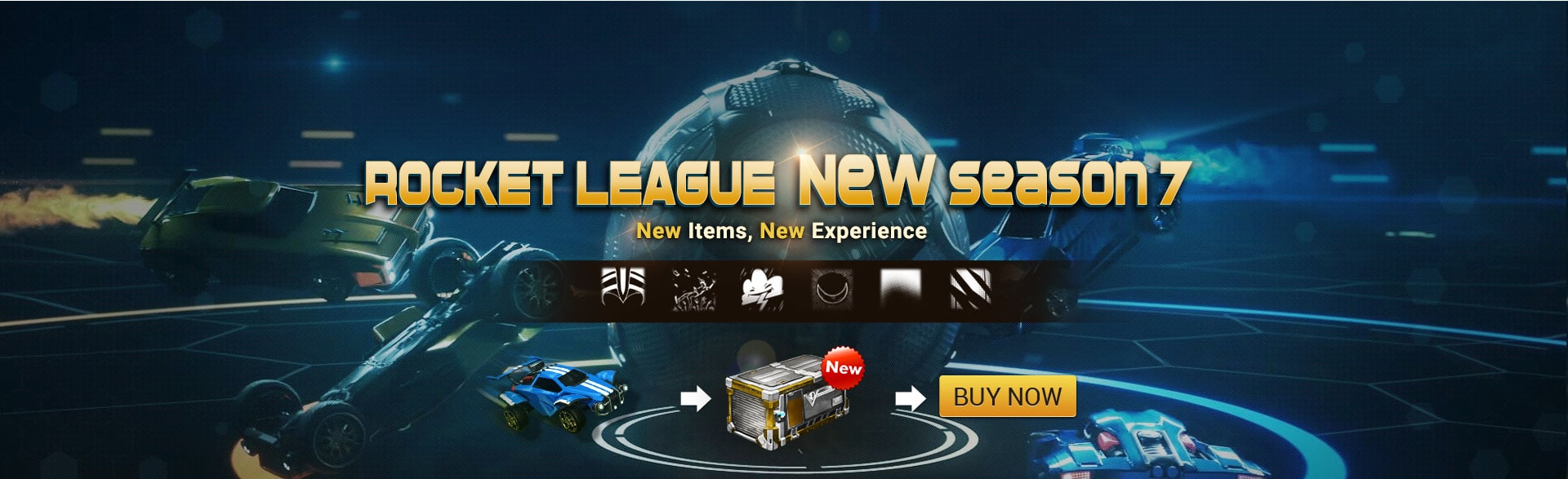 Rocket League Season 7 & new Crate