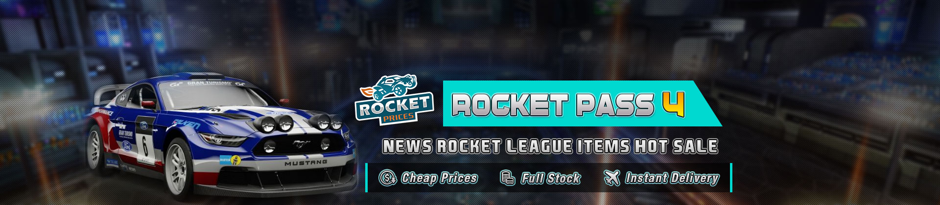 Welcome To Buy Rocket Pass 4 Items