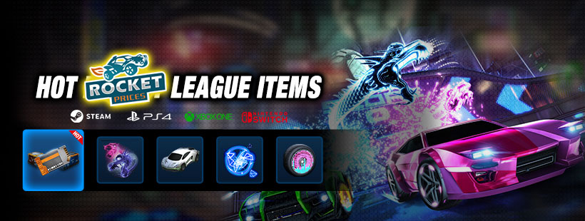 Buy Rocket League Crates, Keys and Items on Best Rocket League Items Store -Rocketprices