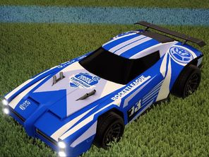 Rocket League Fan (Twitch) Rewards - Dominus with the RLCS decal