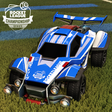 Rocket League Fan (Twitch) Rewards - Octane ZSR with the RLCS decal