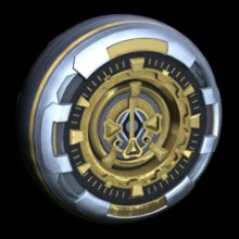 Rocket League Season 6 Rewards - Gold wheel icon