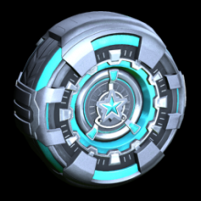 Rocket League Season 6 Rewards - Platinum wheel icon
