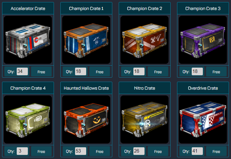 Buy Rocket League Keys Get Free Crates