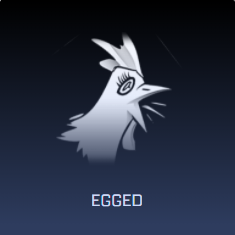 Rocket League Spring Fever Crate Items - Decal - Egged