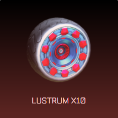 Rocket League Spring Fever Crate Items - Wheels - Lustrum x10