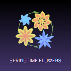Rocket League Spring Fever Crate Items - Boosts - Springtime Flowers