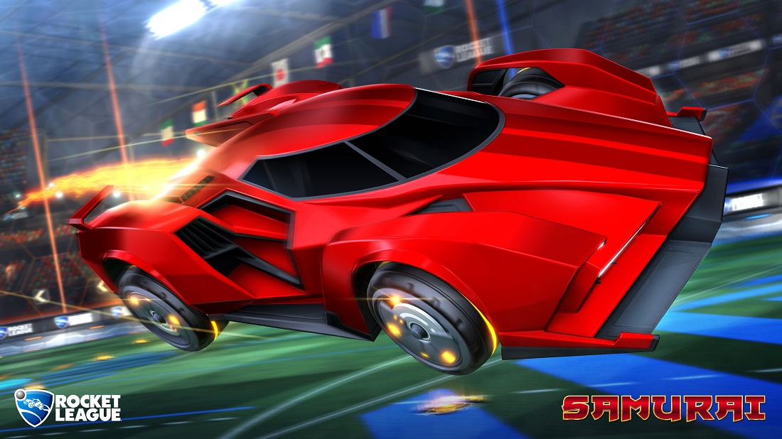 rocket league triumph crate items preview new samurai battle car