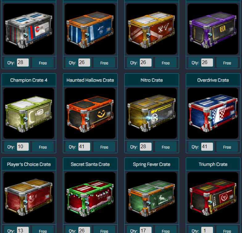 Free Rocket League Crates - RocketPrices