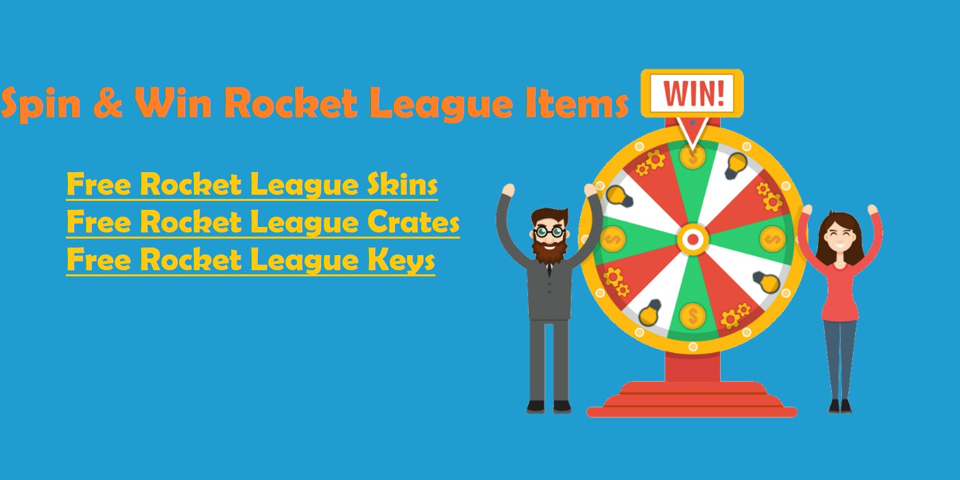 Rocketprices - lucky wheel for free rocket league skins, crates, keys
