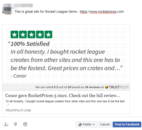 Rocketprices - reviews share