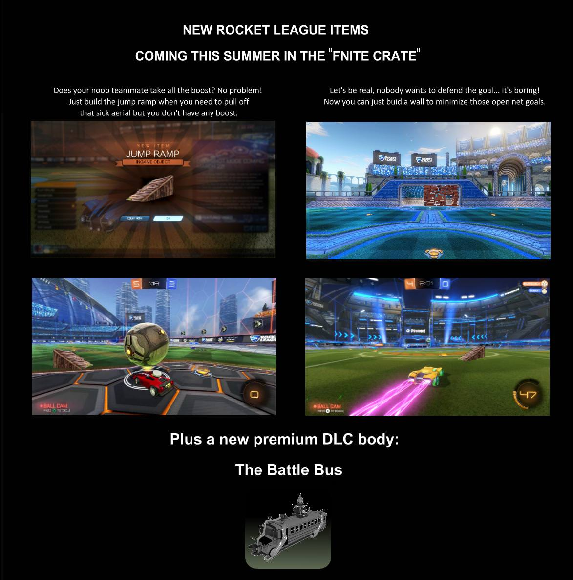 Rocket League Summer Update - New Crate, Items