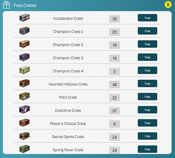 buy rocket league keys + free crates - rocketprices