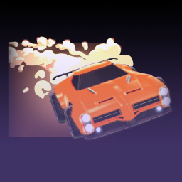 rocket league burnout (player banner) - impact crate