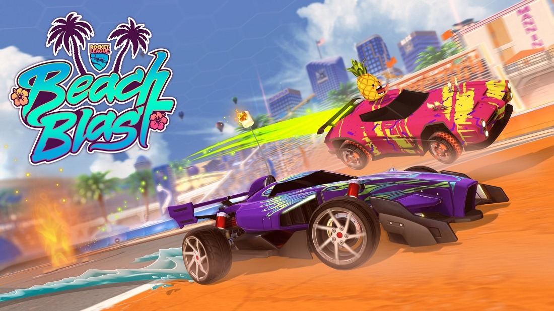 rocket league beach blast event
