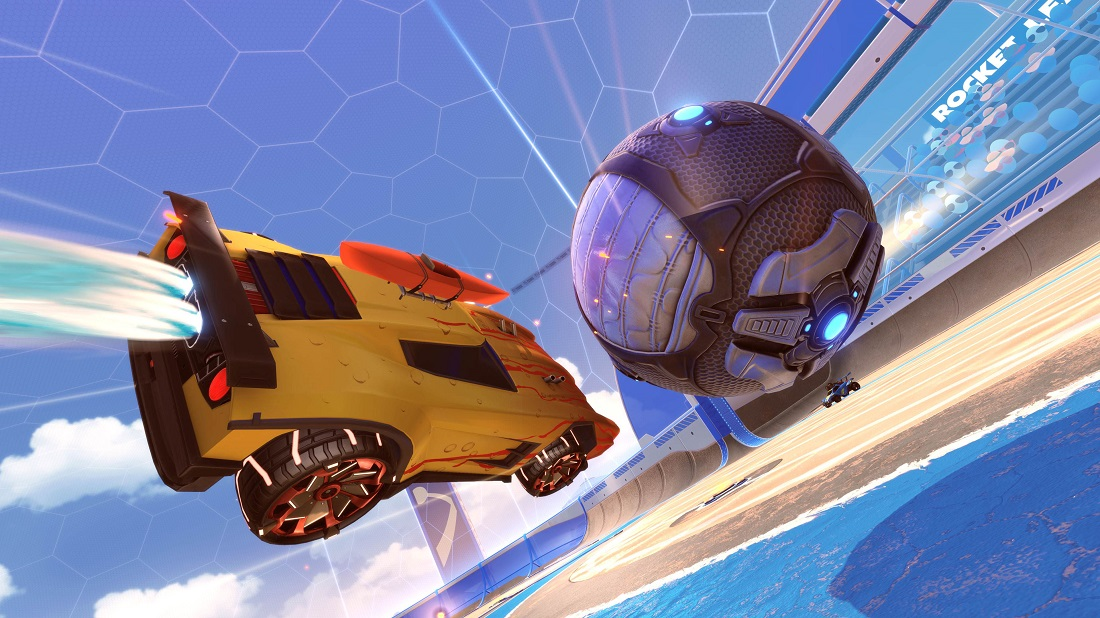 rocket league beach blast items 6 - trail