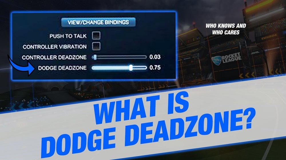 Rocket League Controller Deadzone & Dodge Deadzone Settings Guide