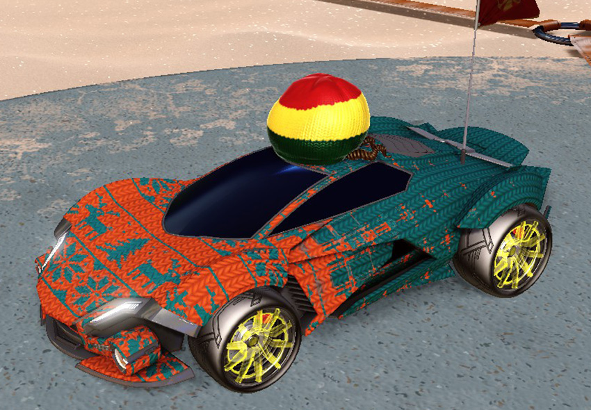 rocket league car designs - 2