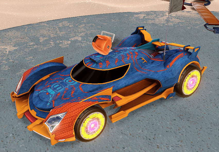rocket league car designs - 3