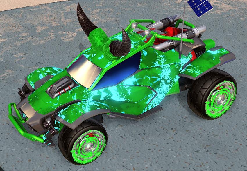 Fire God Rocket League Car Designs - 3