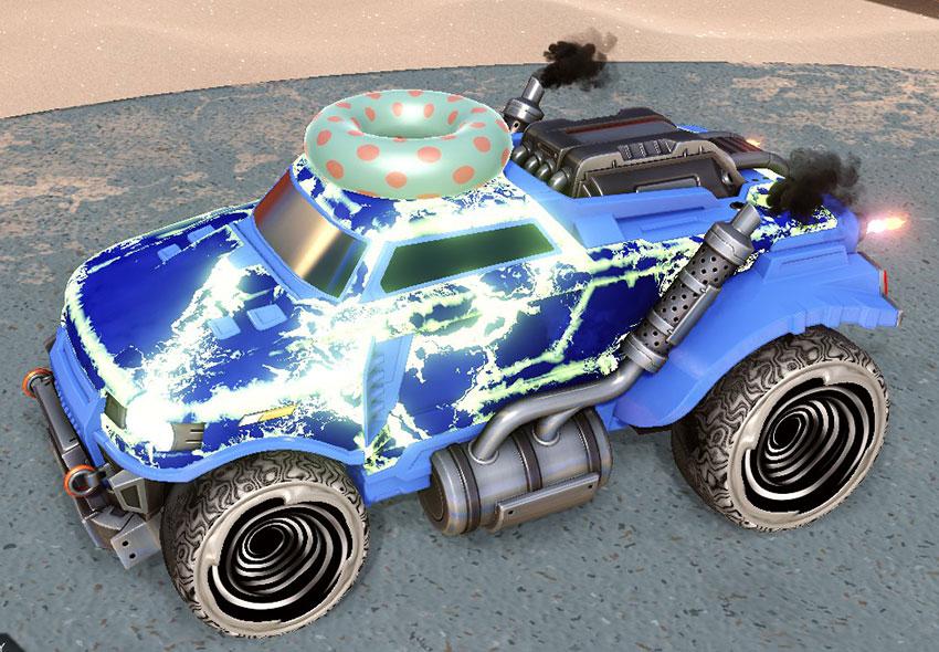 Fire God Rocket League Car Designs - 5