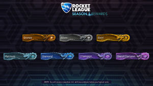 Rocket League Season 5 Rewards - Player Banners