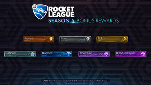 Rocket League Season 5 Bonus Reward - Player Banners