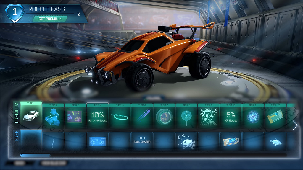 Rocket League Rocket Pass Unlock Tiers Time