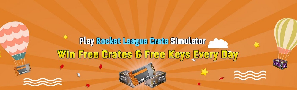 Play Free Rocket League Crate Open Simulator Win Free Keys & Crates