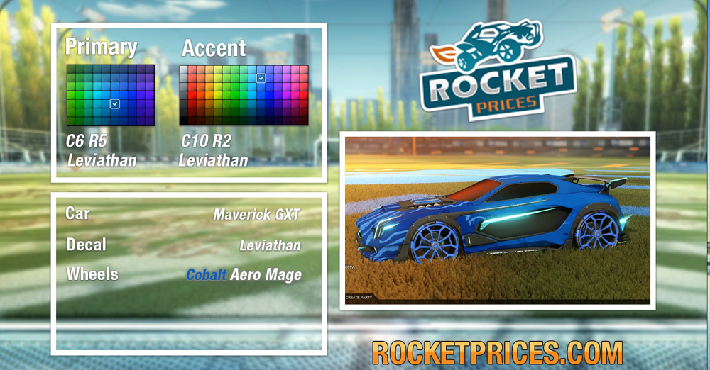 Rocket League Cobalt Maverick GXT