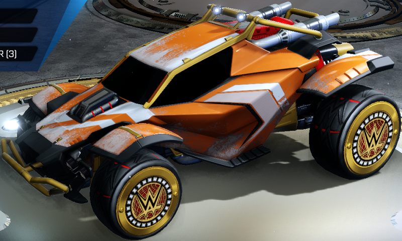 Rocket League Elevation Crate - Rare Decal Muddy