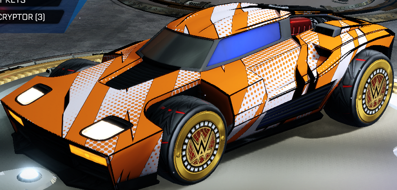 Rocket League Elevation Crate - Very Rare Decal Ripped Comic