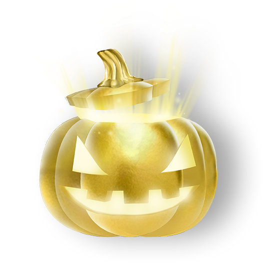 Rocket League Golden Pumpkin