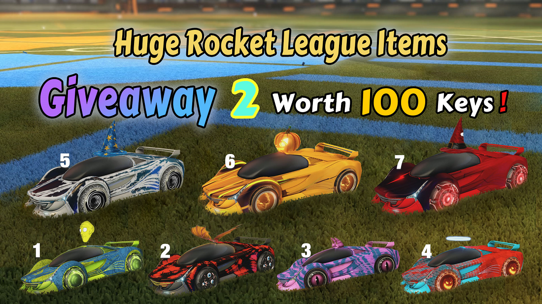 Huge Weekly Giveaway 2, Worth 100 Keys - RocketPrices