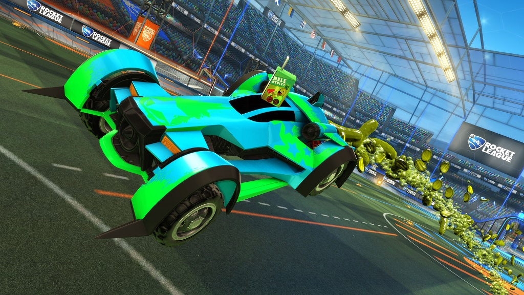 Rocket League Rocket Pass 2 Rewards - pickle boost