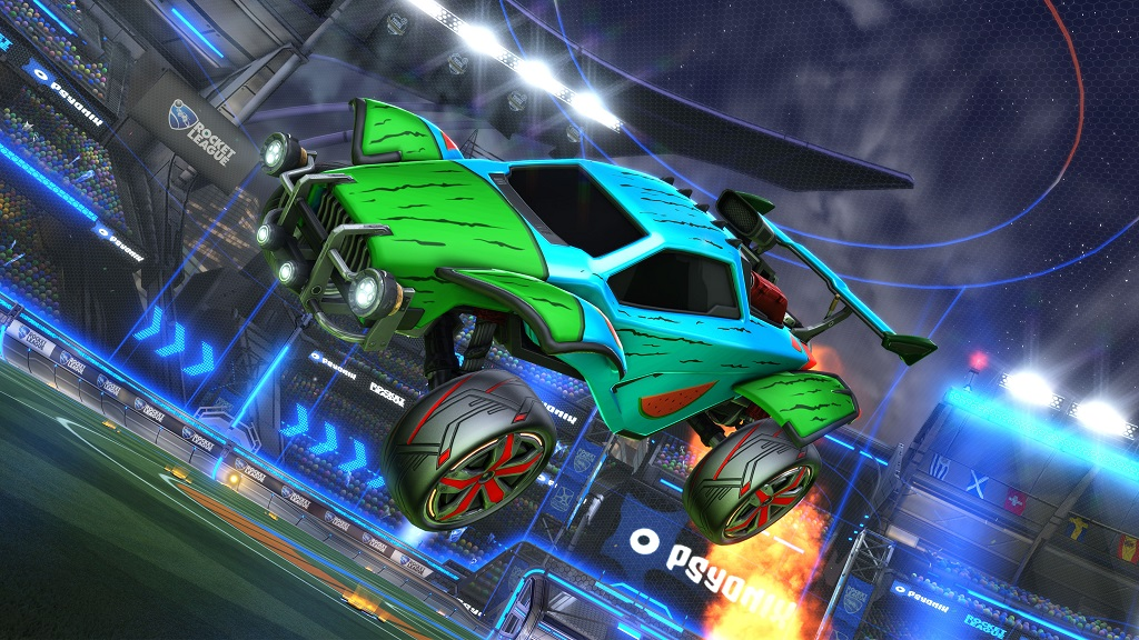 Rocket League Rocket Pass 2 Rewards - moko wheels