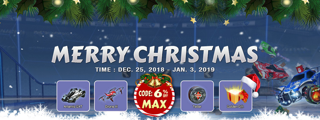 ROCKETPRICES - Christmas & New Year Promotion Coupon