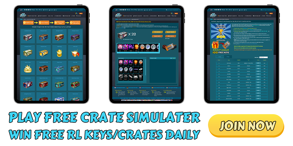 ROCKETPRICES - PLAY FREE CRATE SIMULATOR WIN FREE KEYS