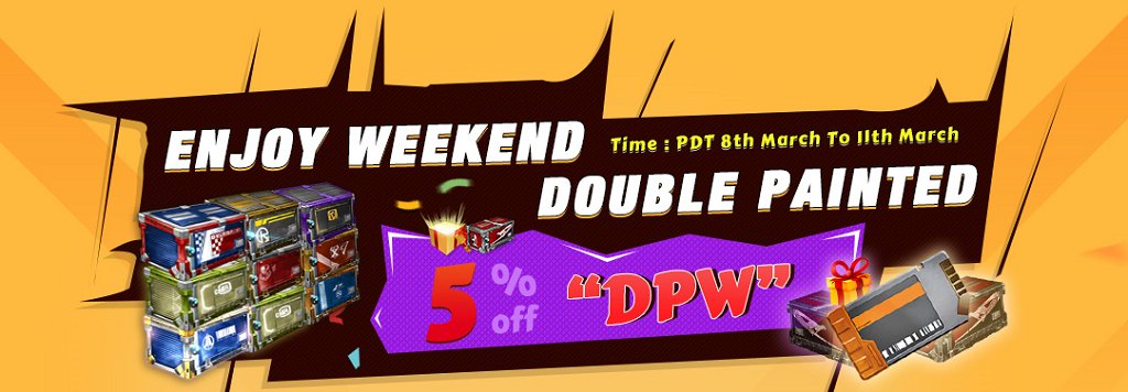 Enjoy Double Painted Weekend, Buy Rocket League Crates, Keys, Items With 5% Off