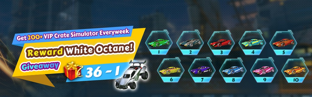 Win 10 Painted Rocket League Breakout Car Designs Mainliner Emerald White Octane Huge Weekly Giveaway 36 1 For Customers