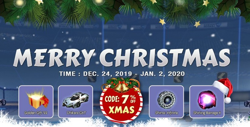 Rocketprices Christmas Promotion - Xmas Discount Coupon